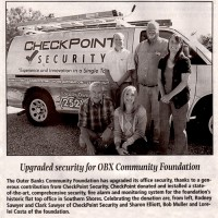 Security Installation OBX Community Foundation