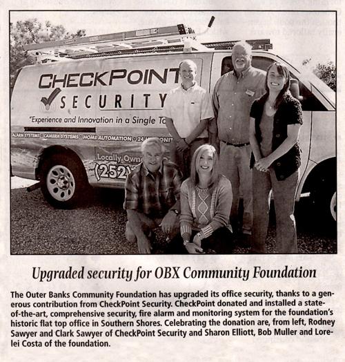 Security Installation OBX Community Foundation